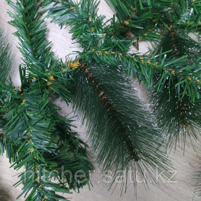 Новогодняя хвойная гирлянда.Применяются для украшения интерьера, фасада здания или в качестве хвои для больших каркасных ёлок