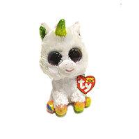 Игрушка мягконабивная TY Единорог Beanie Boo's Pixy 15см 36852