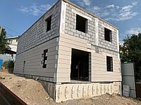 Фасадные панели с армирующим слоем