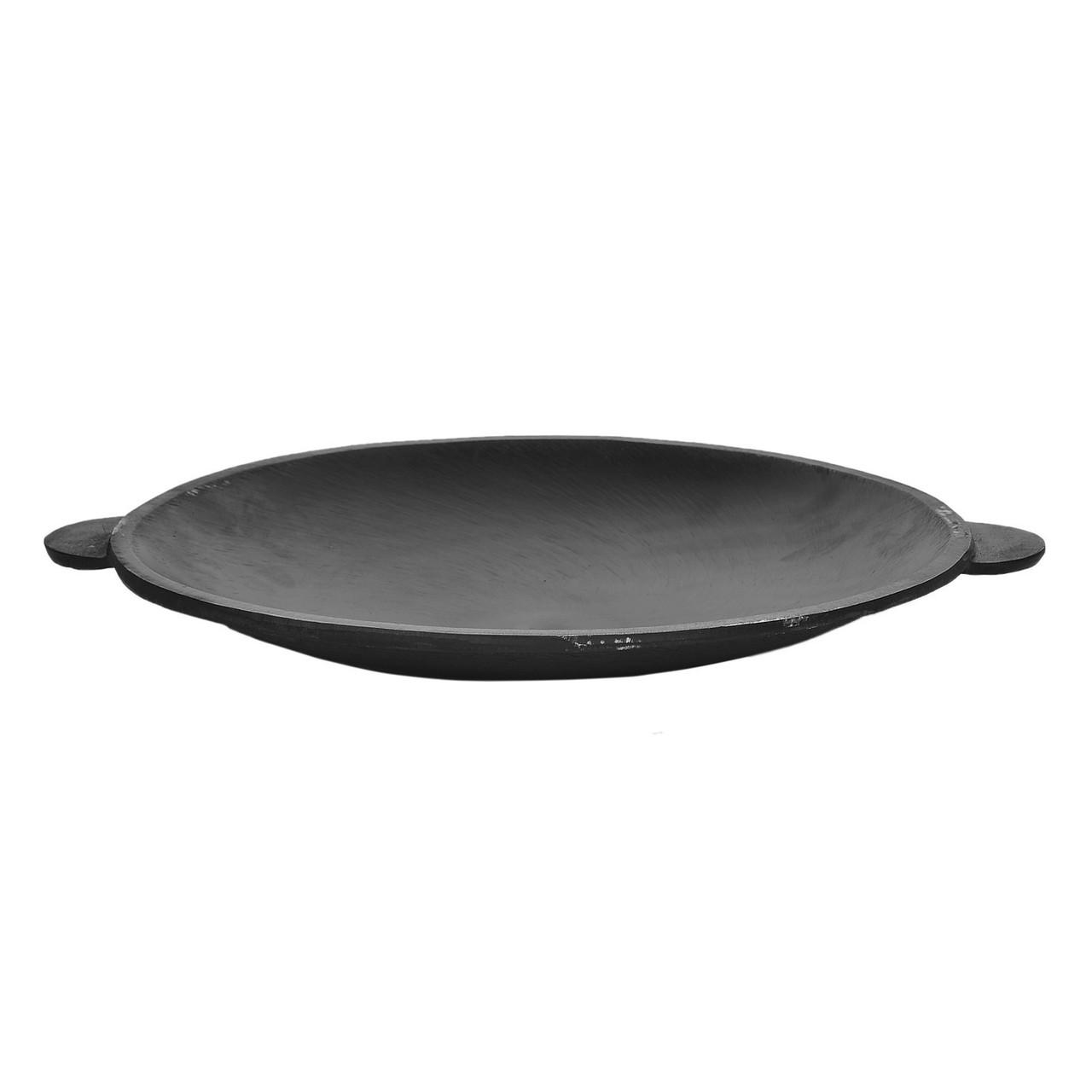 Садж сковорода 450 мм чугунный
