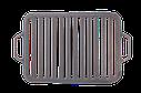 Ситон решетка для гриля и барбекю чугунная 360*260 мм, фото 2