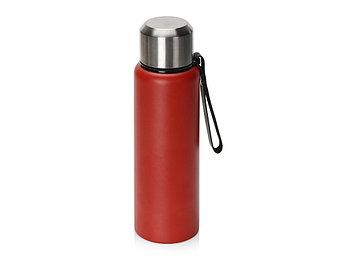 Вакуумный термос Story c покрытием powder, красный