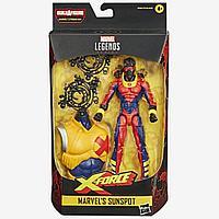 Marvel: Legends. Deadpool. Фигурка Sunspot 15см