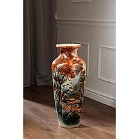 """Ваза напольная """"Виктория"""", природа, 68.5 см, микс, керамика"""