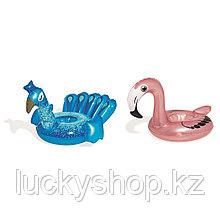 Надувной плавающий держатель для напитков Bestway 34104 в форме птицы
