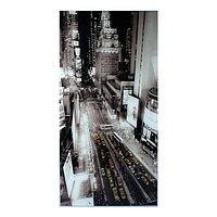 Картина на стекле 'Город' 100*50см