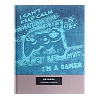 Дневник для 1-4 классов 'Я-геймер' , твёрдая обложка, матовая ламинация, 48 листов
