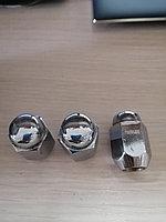 Гайка колесная М12 х 1.25, под ключ 21 мм, закрытая для литого диска, ХРОМ, 34mm