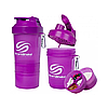 Шейкер 3 в 1 SmartShake - SmartShake, емкость 400 мл Фиолетовый