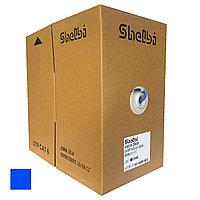Shelbi Кабель связи витая пара U/UTP, LSZH, кат.6 4х2х24AWG solid, 305м, синий