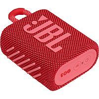 Портативная акустическая система JBL GO 3 красный (JBLGO3RED)