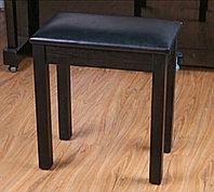 Стул/банкетка деревянная для пианино, черная