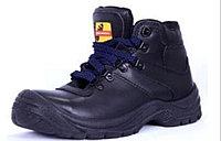 """Мужские ботинки """"Оптимус"""" цвет черный"""