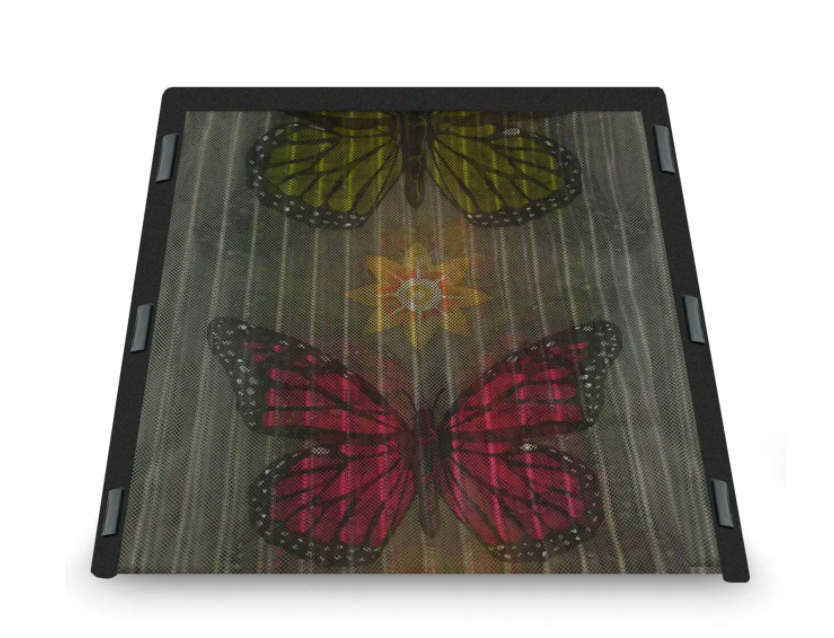 Москитная сетка с бабочками
