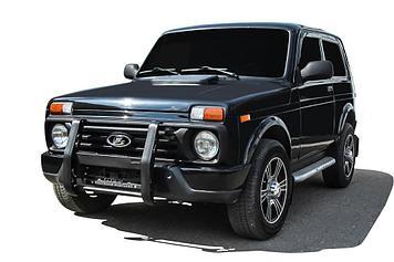 Кронштейн для противотуманных фар BRUTAL Lada Niva 4X4 Urban 3d