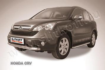 Защита переднего бампера d76 Honda CR-V (2009)
