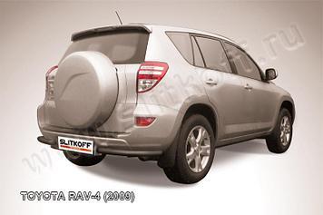 Уголки d57 черные Toyota RAV4 (2009)