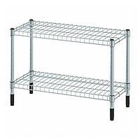 ОМАР Стеллаж, оцинковка 60x25x40 см ИКЕА, IKEA
