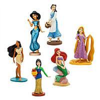 Игровой набор фигурок принцесс 6 героев Дисней