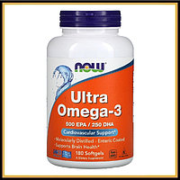 Now Foods Ultra Omega-3 180капсул