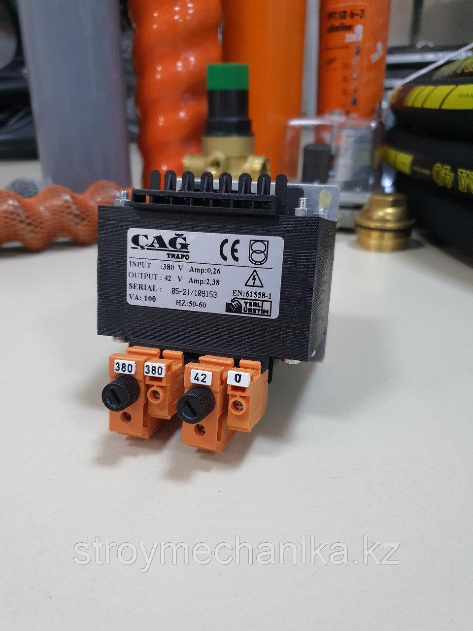 Трансформатор понижающий 380В / 42В для штукатурного агрегата
