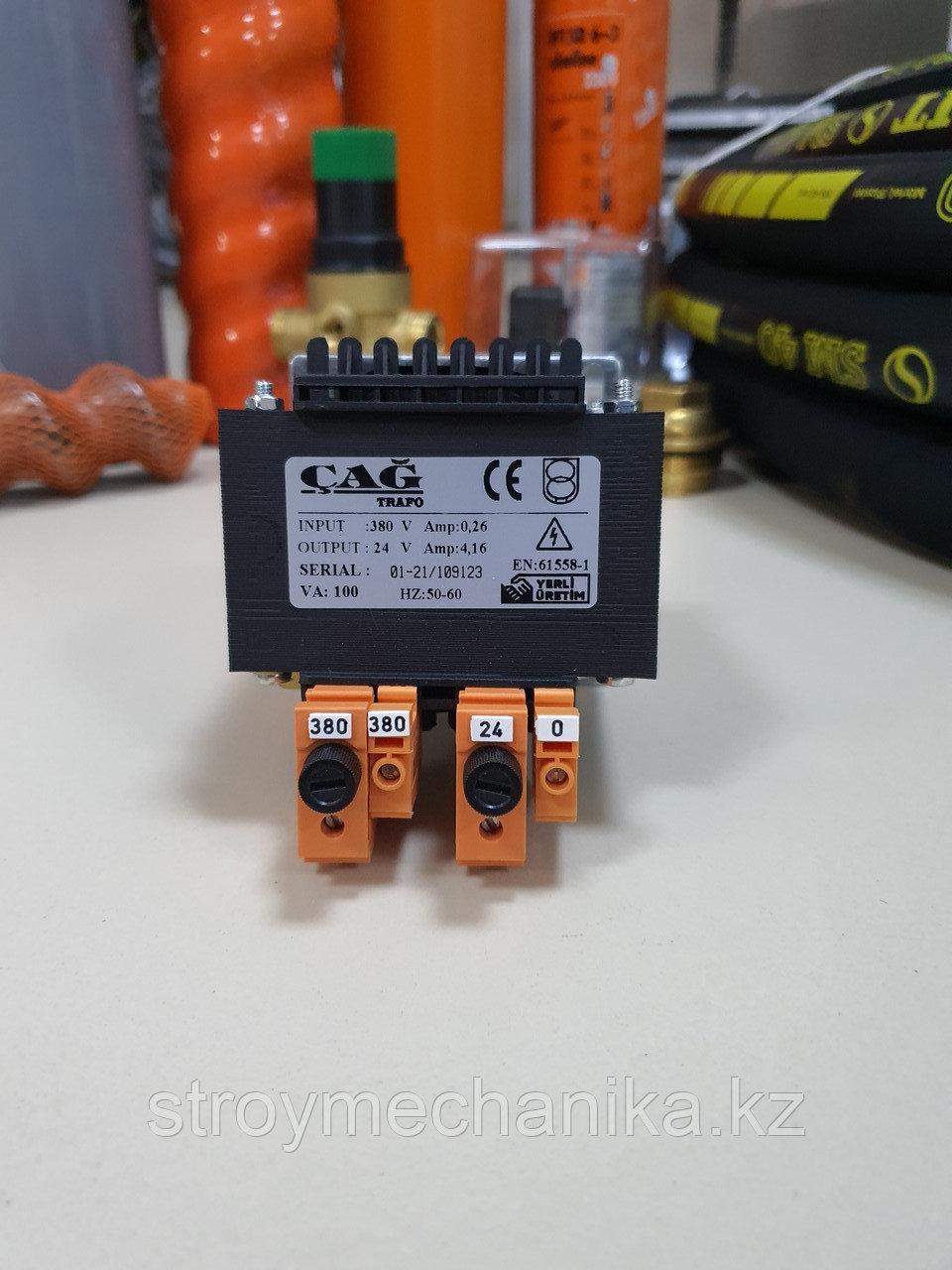 Трансформатор понижающий для штукатурной станции 380/24 вольт