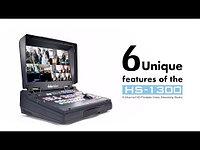 HS-1300 6 канальная HD портативная студия с интернет вещанием