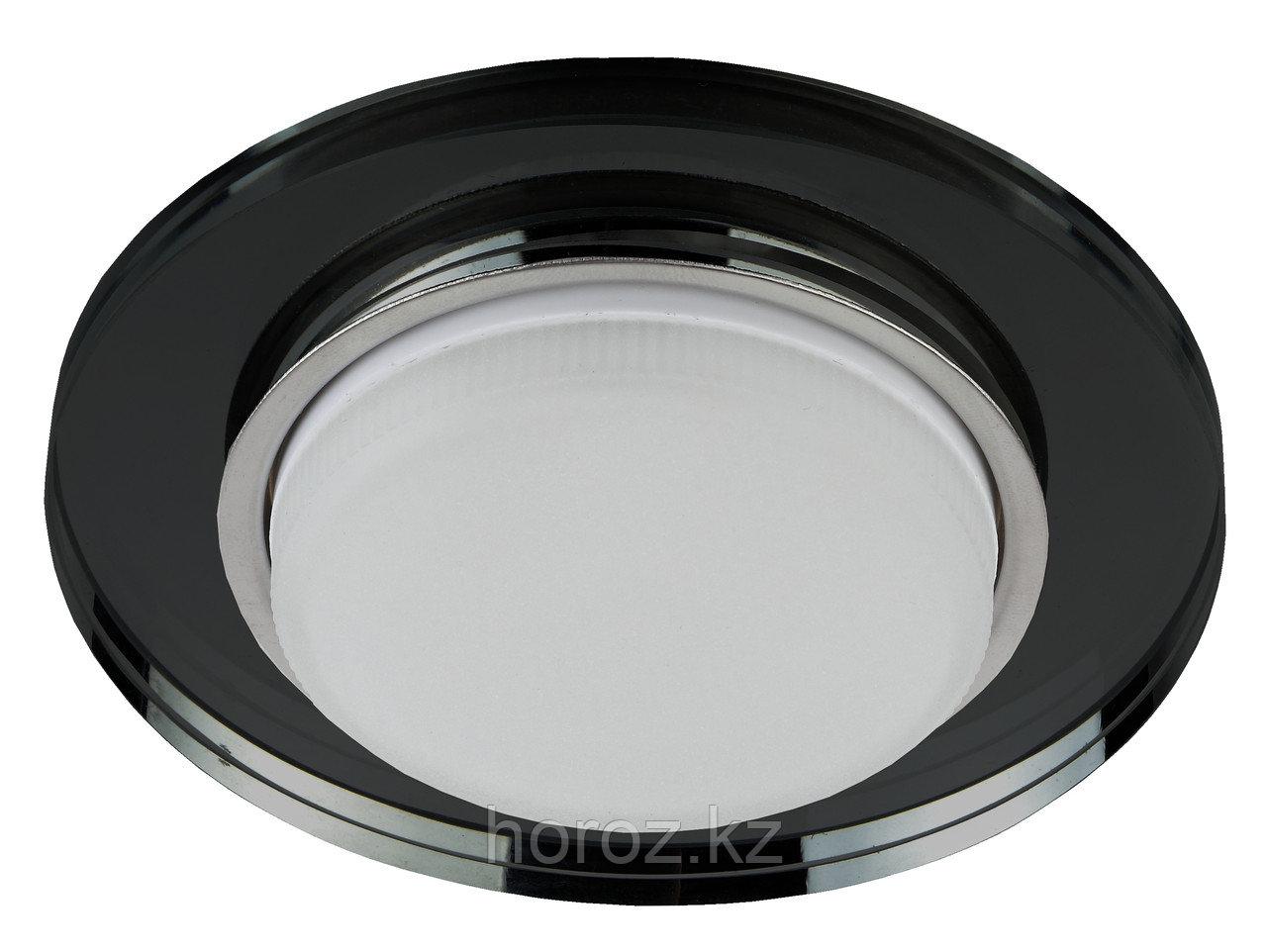 Точечный светильник под лампу GX53 черный