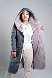 Пальто двухсторонне Button, фото 3