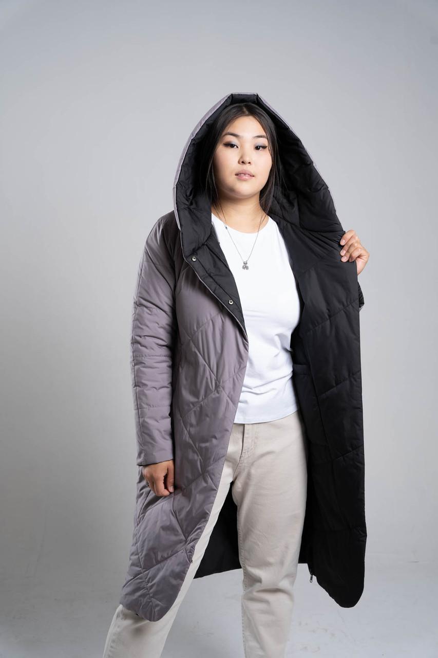 Двухстороннее пальто BUTTON
