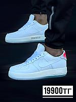 Кеды Nike AF-1 люкс бел радуга