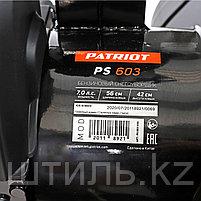 Снегоуборочная машина (7 л.с.   56 см) Patriot PS 603 самоходная бензиновая 426108603, фото 5