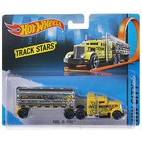 Трейлер Hot Wheels City Track Stars Fuel & Fire (BFM76/BFM64) 1:64 15 см