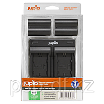 Набор Jupio Value Pack: 2x Battery NP-W235 + USB Dual Charger