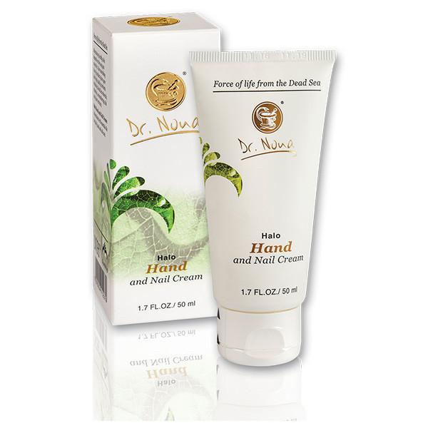 Доктор Нона крем для рук и ногтей/ Dr.Nona - Halo Hand and Nail Cream - Dead Sea Minerals Organic, All Skin