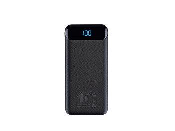 VA2540 (10 000mAh), QC/PD 20W внешний аккумулятор с дисплеем, черный