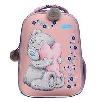 Рюкзак каркасный Me To You, 40 х 30 х 15, для девочки EVA, розовый/синий