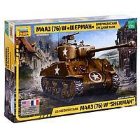 3676 Американский средний танк М4А3 (76) W 'Шерман' с 76-мм пушкой