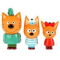 Набор из 3-х игрушек для купания 'Компот, Коржик, Карамелька', в коробке