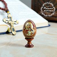 Яйцо сувенирное 'Аз есмь', на подставке