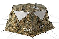 Палатка всесезонная Берег КУБ Гексагон двухслойная, высота 2.1 м., диаметр 4,65 м., площадь 12,57 м²