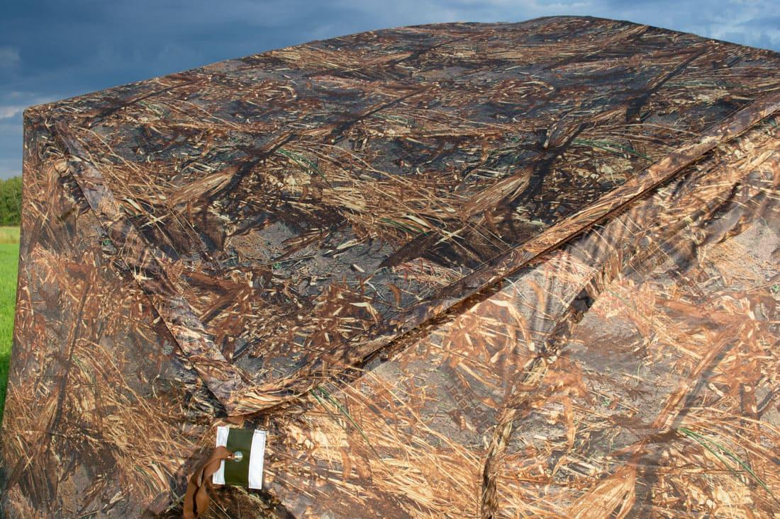 Палатка всесезонная Берег КУБ Гексагон двухслойная, высота 2.1 м., диаметр 4,65 м., площадь 12,57 м² - фото 7