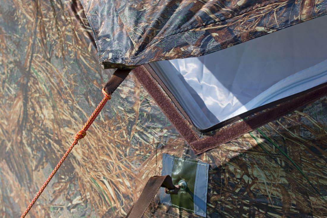 Палатка всесезонная Берег КУБ Гексагон двухслойная, высота 2.1 м., диаметр 4,65 м., площадь 12,57 м² - фото 9