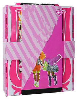PG8010 Маленькая кукла + 20 аксессуаров в  шкафу