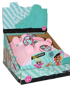 PG8018 Маленькая кукла +20 аксессуаров в сумочке 3 шт в уп, цена за 1шт 24*15см