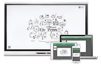 Интерактивный дисплей модель SPNL-6275 с технологией iQ и ключом активации SMART Learning Suite