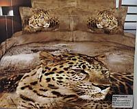 Постель, семейный комплект Хищники природы, 2022 год Тигра