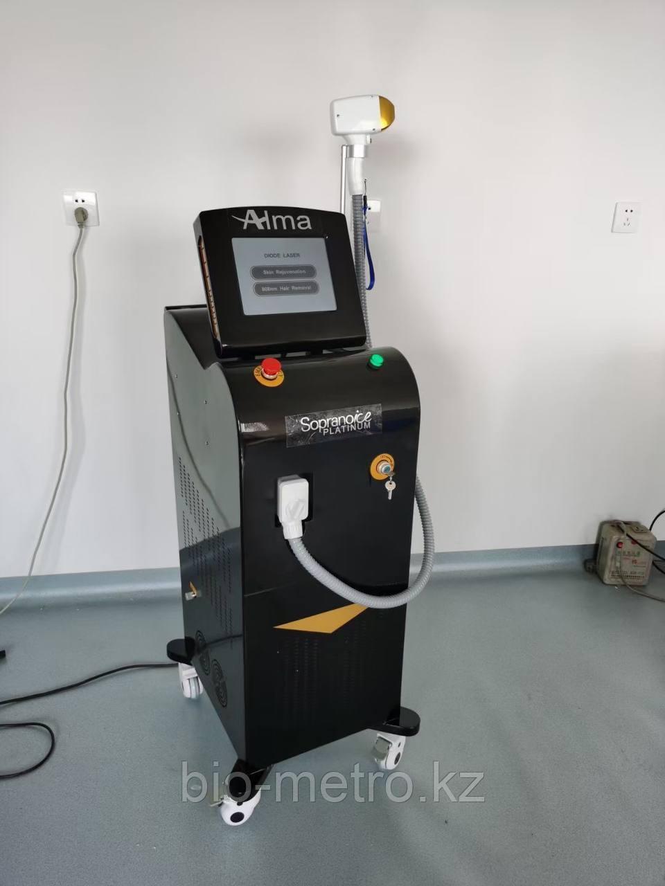 Аппарат трехволновой диодный лазер Alma Light Lux.