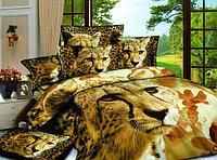 """Постельное белье, двуспалка """"Хищники природы"""", год Тигра"""
