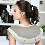 Массажер на плечи Hada. Ударный массаж для шеи, плеч и спины., фото 5